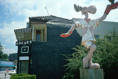 Bullwinkle staty, Hollywood, CA arkivbild