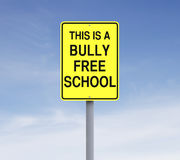 Bully Free School Royalty Free Stock Photography