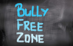 Bully Free Zone Concept Royalty Free Stock Images