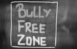 Bully Free Zone Concept Royalty Free Stock Photography