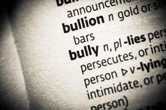 Bully Stock Image