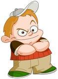 Bully kid Royalty Free Stock Image
