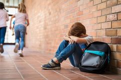 Free Bullying At School Stock Photo - 115139500