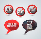 Bullying awareness elements Stock Photo