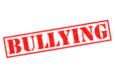 BULLYING Royalty Free Stock Photo