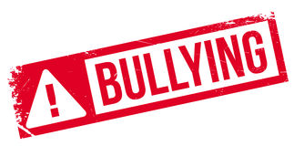 Bullying rubber stamp Stock Photos