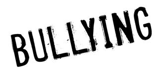 Bullying rubber stamp Stock Image