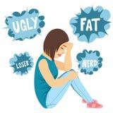 Bullying Teenager Girl Stock Image