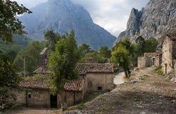 Bulnes furstendöme av Asturias, Spanien Royaltyfria Bilder