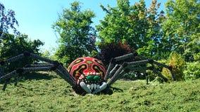 Bult d'araignée de Legoland par des morceaux de lego Image libre de droits
