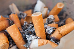 Bult de fond de cigarettes Image libre de droits