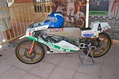 Bultaco 50 Classic Racing Motorcycle Stock Photos
