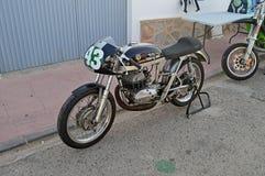 A Bultaco Racing Motorcycle Stock Photos
