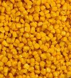 Bulto de granos amarillos del maíz fotografía de archivo