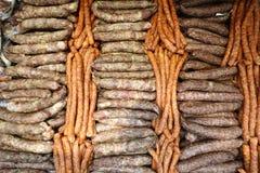 bulto de las salchichas imagen de archivo