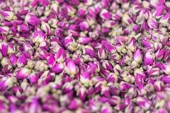 Bulto de té de las rosas foto de archivo libre de regalías