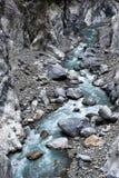 buluowan峡谷taroko线索 库存照片