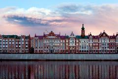 Bulwar Bruges w Ola Obrazy Stock