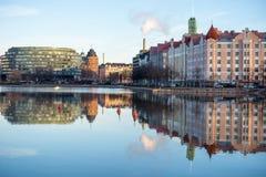 Bulwar w Helsinki Fotografia Royalty Free