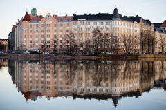 Bulwar w Helsinki Zdjęcia Royalty Free