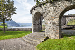 Bulwark - historical customs station in Andernach, Germany Stock Photography