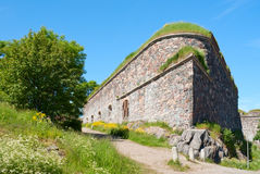 Bulwarks of Suomenlinna Royalty Free Stock Images