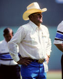 Bum Phillips, Houston Oilers Royalty-vrije Stock Foto's