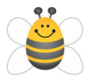 Bumble Bee. Happy Bumble Bee Royalty Free Stock Photos