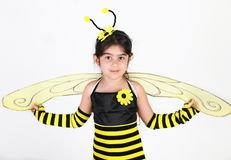 Bumble bee costume Royalty Free Stock Image