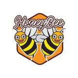Bumble bee / honey bee logo, vector illustration. Bumble bee / honey bee logo for your business, vector illustration vector illustration