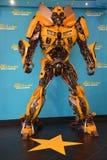 Bumble bee transformer Stock Photo