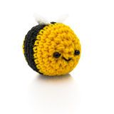 Bumblebee crochet Royalty Free Stock Photos
