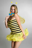 Bumblebee Halloween Costume Royalty Free Stock Photography