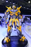 BUMBLEBEE, heroic Autobot based on Chevrolet Camar Royalty Free Stock Photo