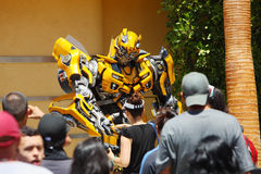 BUMBLEBEE in universal studios Royalty Free Stock Photos