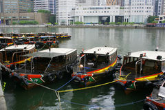 Bumboat Royalty Free Stock Images