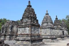 Bumbung tempel Arkivfoto