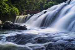 Bumbungan Eco-park fall. Bumbungan Eco-park laguna in philippines Stock Photography