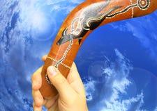 bumerang Royaltyfria Foton