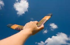 Bumerang Imágenes de archivo libres de regalías