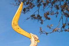 bumerang Fotografía de archivo libre de regalías