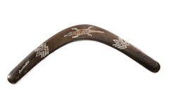 Bumerang aborigen australiano Fotos de archivo