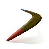 Bumerang de la aerodinámica stock de ilustración