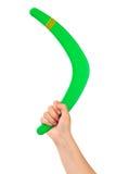 bumerang ręka Obraz Stock