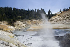 Bumpass Hell Royalty Free Stock Photo