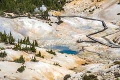 Bumpass Hell Landscape Stock Images