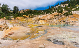 Bumpass hell Royalty Free Stock Photos