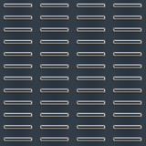 Bumped Metal Plate Pattern Royalty Free Stock Photography