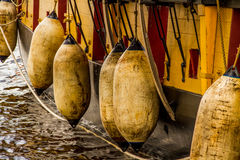 Bumper Buoys Royalty Free Stock Images