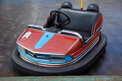 Bumper car. Red-blue old style bumper car Royalty Free Stock Photos